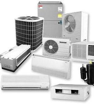 Aire acondicionado, mini split, equipos tipo paquete, chiller fan & coil