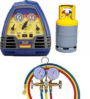 Recuperación y confinamiento de gasesrefrigerantes CFC, HCFC y HFC.
