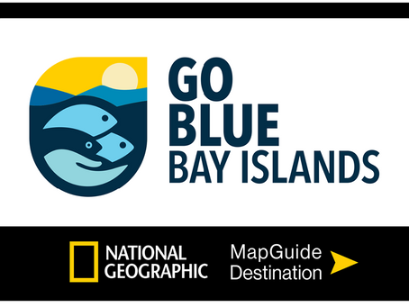 GO BLUE BAY ISLANDS, NATIONAL GEOGRAPHIC