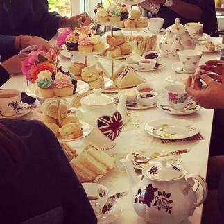 Vintage afternoon tea is served..jpg