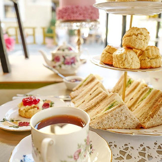 Our cosy Tea Room serves traditional Eng