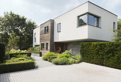 Moderne Mehrfamilienhäuser