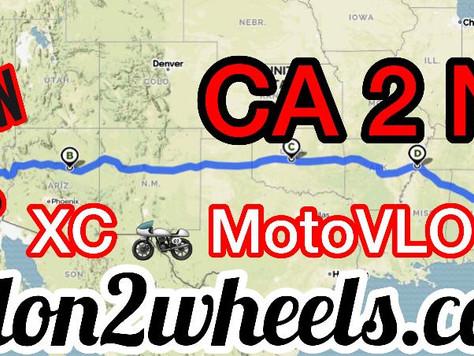 H2W ROAD TRIP: CA to NC XC MotoVLOG Series