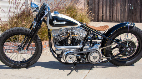 RIDE PRIDE:  Stacy's Garage - The Tracker