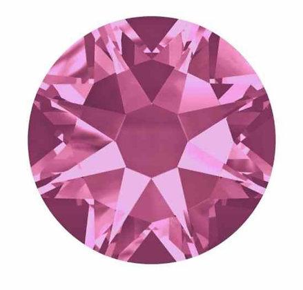 swarovski rose pink ss7
