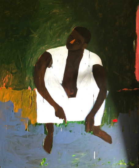 """This Aint No Picnic 2019 60""""x72"""" Acrylic on Canvas"""