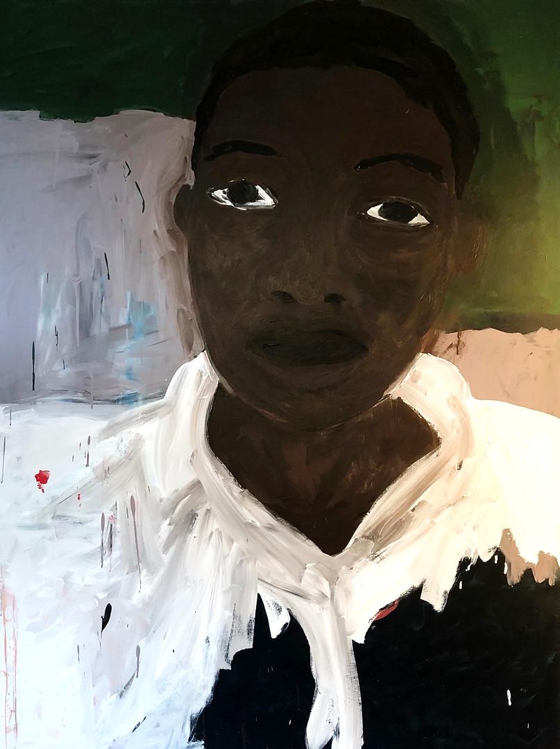 "Vibing High 2019 48""x60"" Acrylic on Canvas"
