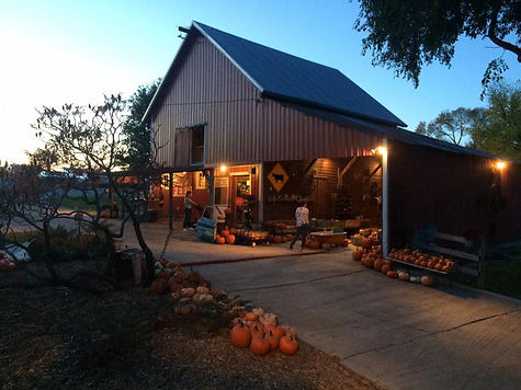 The barn at Bloom Where You're Planted Farm and Pumpkin Patch, Avoca, NE