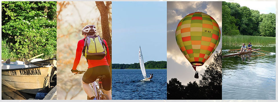 Vélo autour du lac, montgolfière au-dssus du lac, dériveur sur le lac, barque sur le lac, toutes ces activités sont possibles à Kaleta