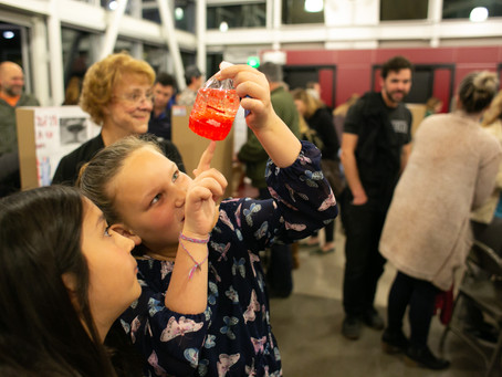 Science Fair was bubbling with fun!