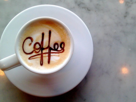 Join us for Coffee on the first day