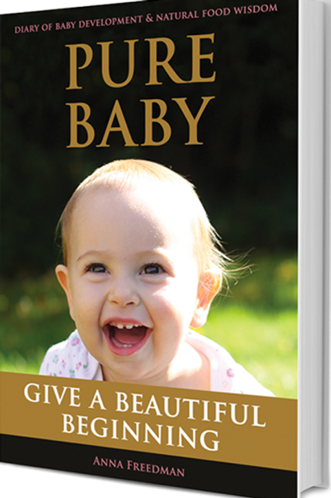 Pure Baby Book - paperback