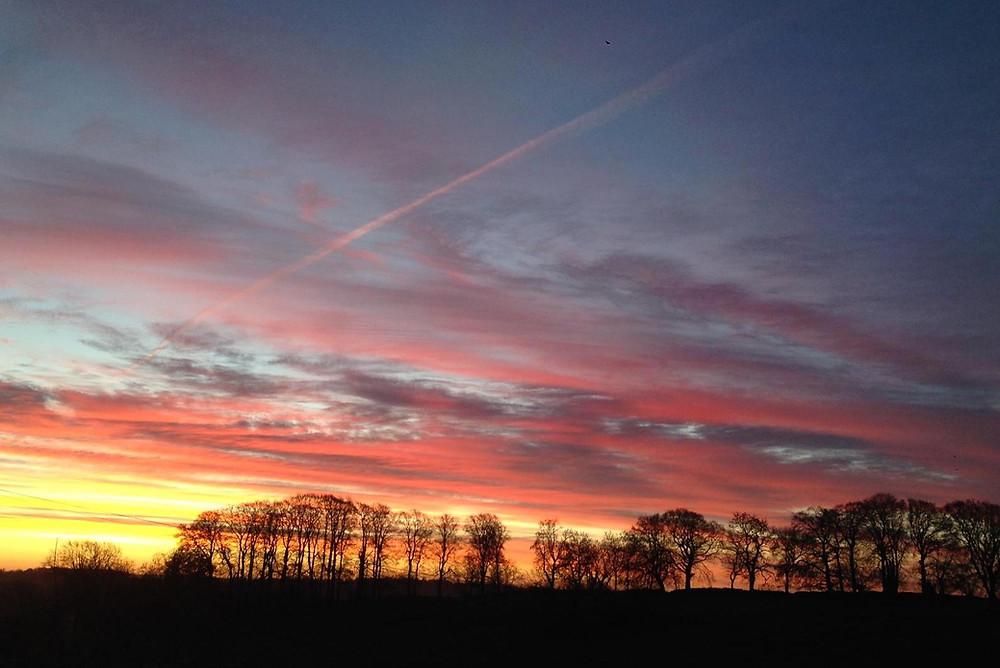 winter solstice in Somerset