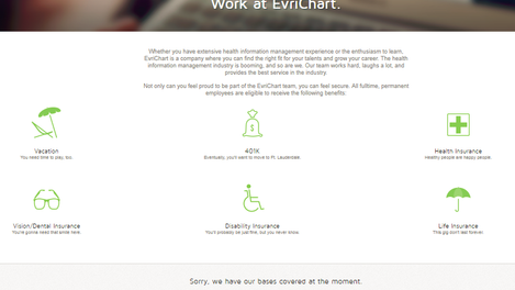 EvriChart.com web copy