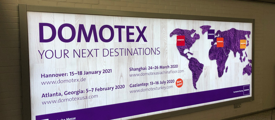 AEI returns from Domotex in Hannover, Germany