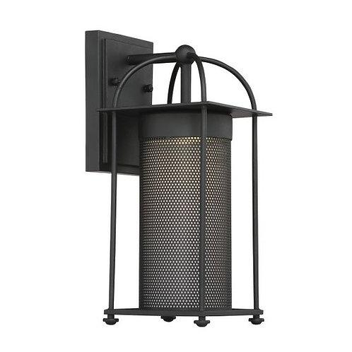 Sierra LED Black Exterior Sconce