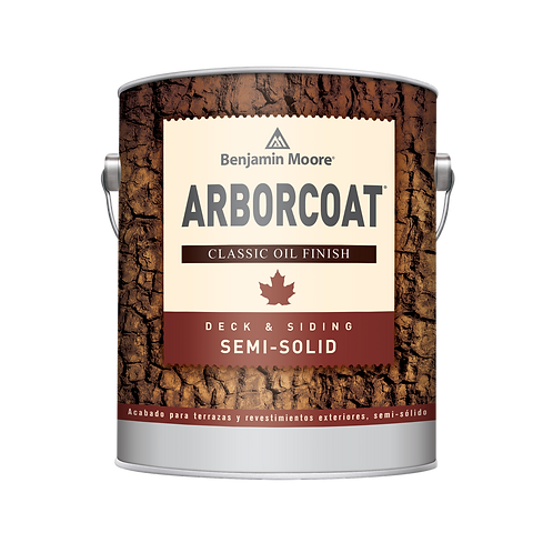 Arborcoat Semi Solid Oil Stain Sample