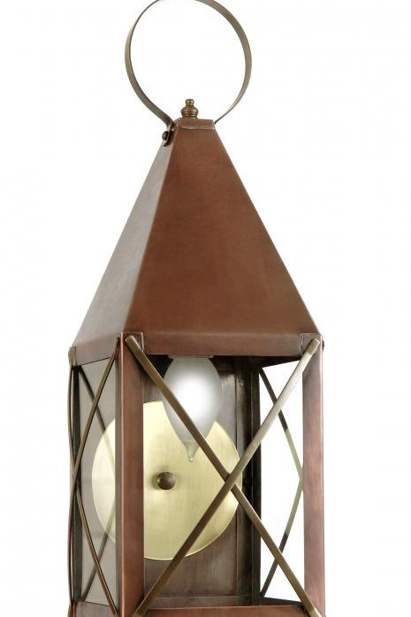 Brass Lantern Modified for Dark Skies