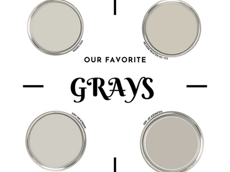 Favorite Gray Paint Colors