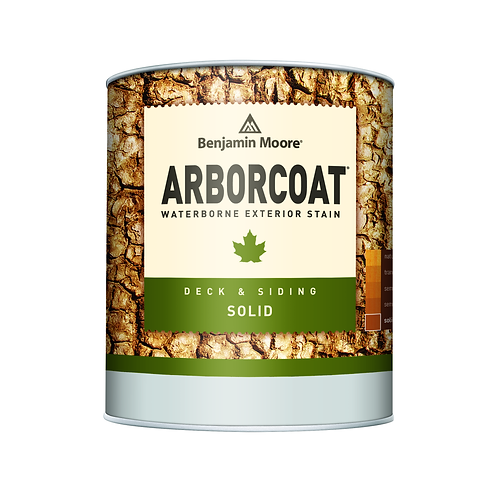 Arborcoat Solid Stain Sample