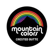 mountain colors rainbow logo crested but