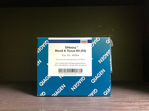 Qiagen, DNeasy Blood & Tissue Kit [50prep], 69504