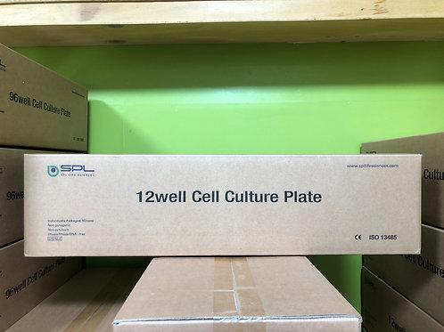SPL, 12 well Cell Culture Plate [50/cs], 30012