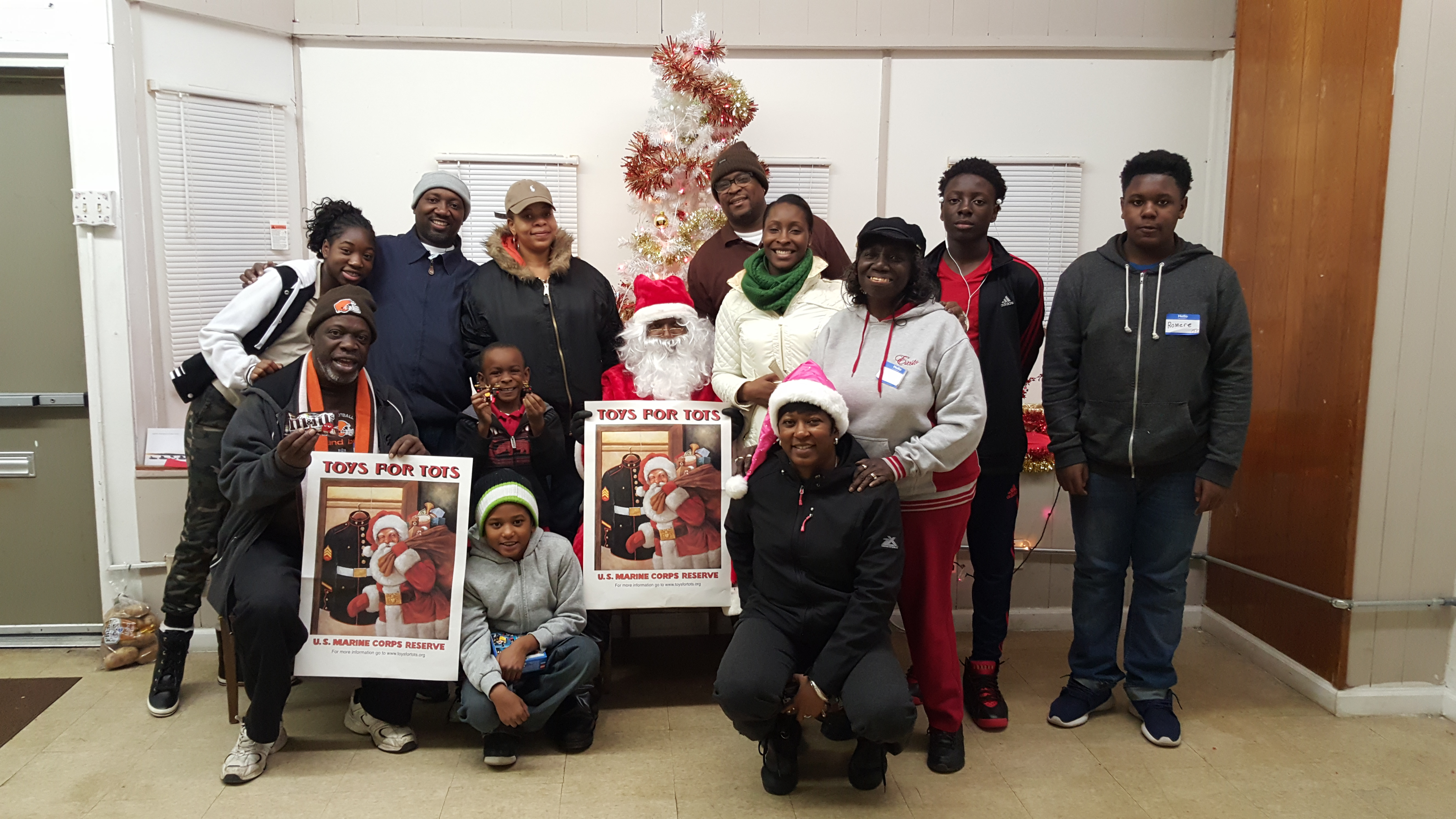 2015 Toys for Tots Volunteers