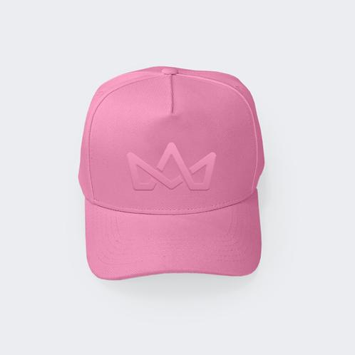 Boné Misspink Aba Curva Pink