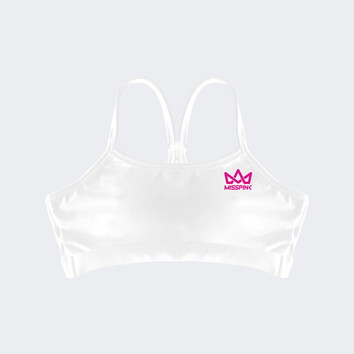 Top Misspink One White