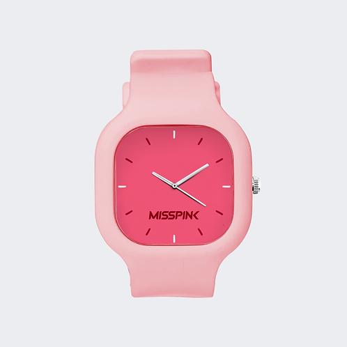 Relógio Misspink Pink