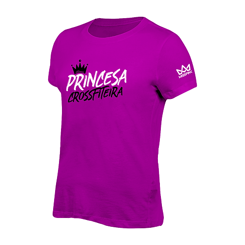 Camiseta Misspink Princesa Crossfiteira