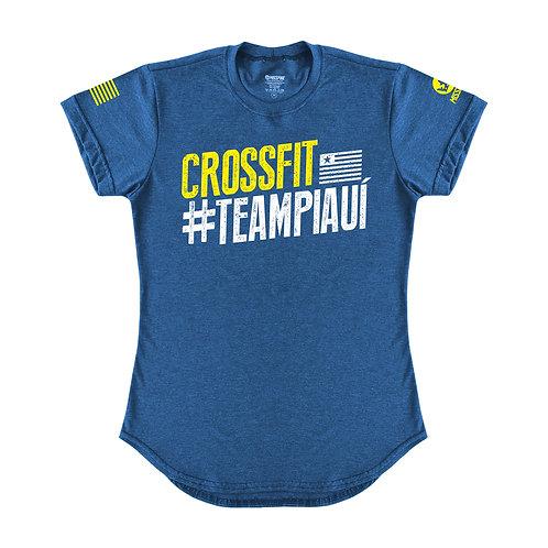 Camiseta Crossfit #TeamPiauí