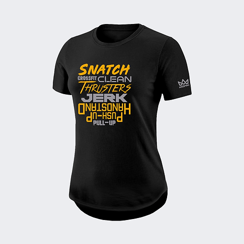 Camiseta Misspink Snatch Crossfit