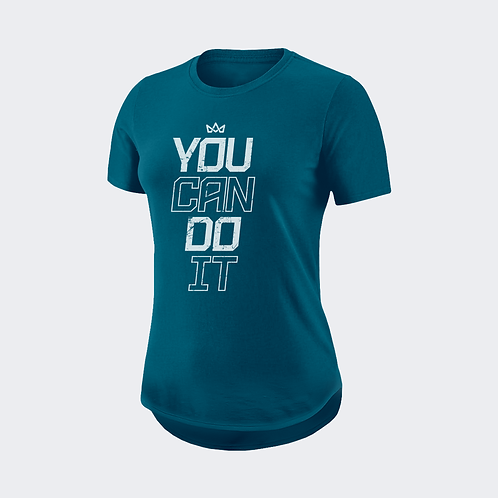 Camiseta Misspink You Can Do It