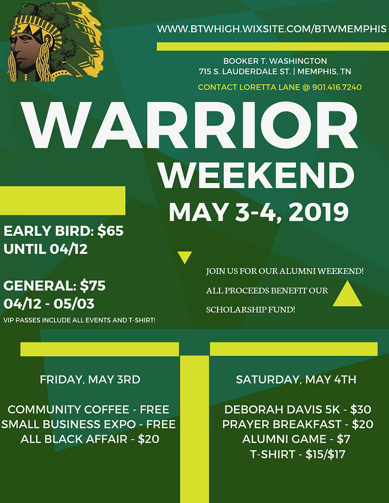 Warrior Weekend 2019 | btwmemphis