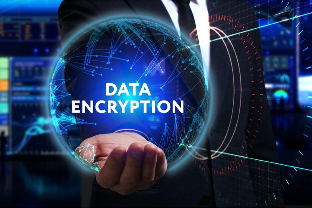 IT company explaining what is data encryption
