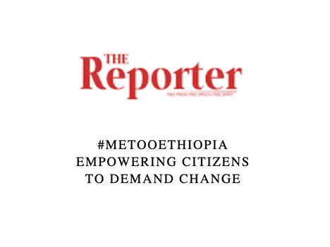 #MeTooEthiopia – Empowering citizens to demand change