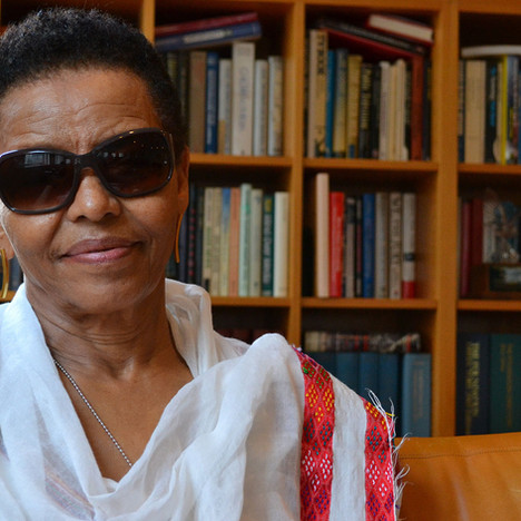 Bogaletch Gebre, the Ethiopian women's rights activist