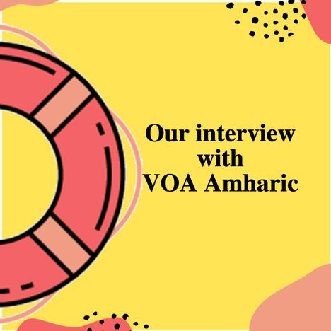 MeTooEthiopia founder with VOA Amharic  (Video)
