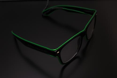 Clear Lens Beta Shades Green