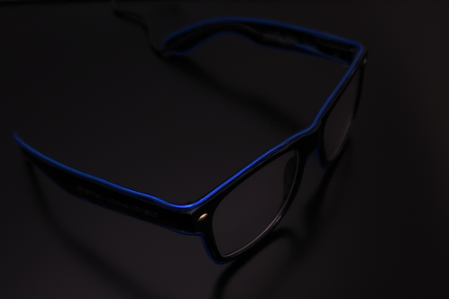 Clear Lens Beta Shades Blue