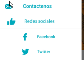 Conecte su evento con las redes sociales.