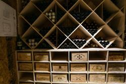 Custom wine racking