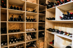 Wine shelving