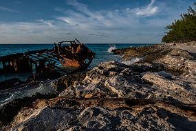 Gallnt Lady shipwreck Bimini, Bahamas