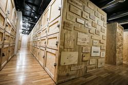Wine storage lockers