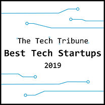 The Tech Tribune, best tech startups, 2019, badge