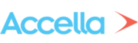 Accella, logo, software development service,