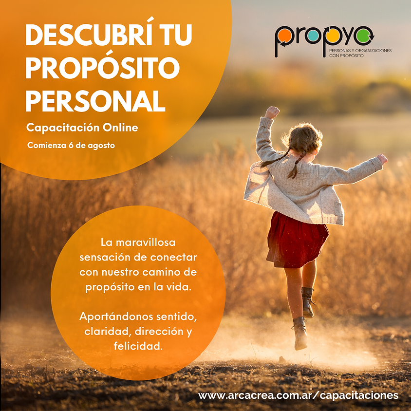 Descubrí tu Propósito Personal, programa online